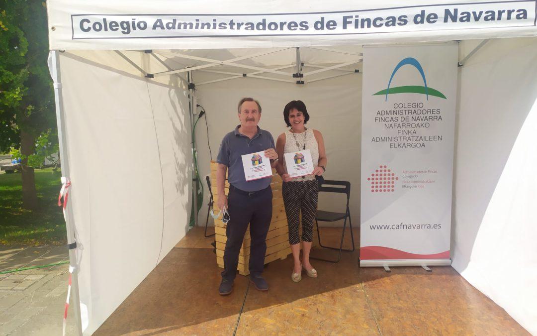 PARTICIPACIÓN DEL COLEGIO DE ADMINISTRADORES DE FINCAS DE NAVARRA  EN LA FERIA EDIFICA 2021